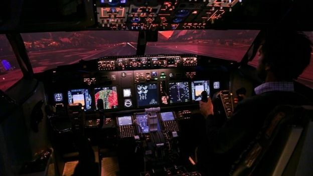 European Flight Simulator, la simulation de vol vu du cockpit