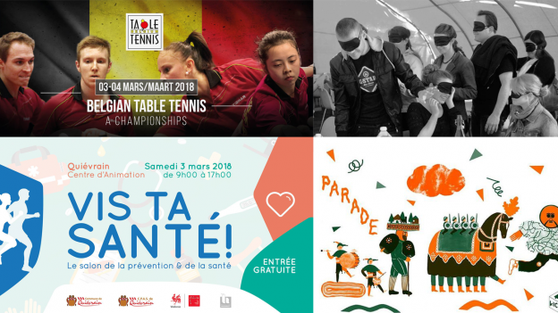 Les 7 surprises du week-end en Wallonie et à Bruxelles