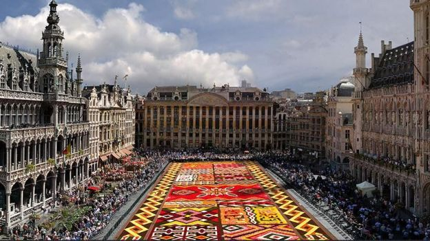 "Remportez 2X2 places pour le ""Brussels Flower Carpet"" du 16 au 19 août à la Grand-Place!"