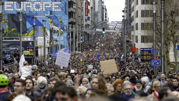 Rise for Climate - 4th edition - European march