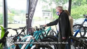 Ventes records de vélos pendant le confinement
