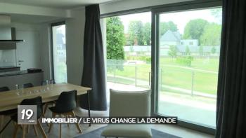 Immobilier : le virus change la demande