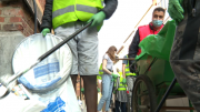 Le World Cleanup Day fait escale à Bruxelles