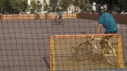 Un tournoi international de Bike Polo à Saint-Gilles