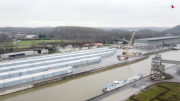 Extension du port de Vaulx : la Ville de Tournai remet un avis favorable à la SODEMAF